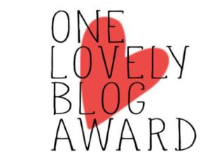 One Lovely Award