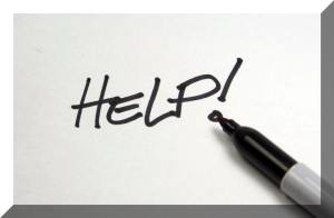 help-sign