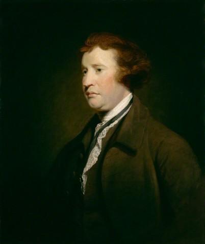 NPG 655; Edmund Burke studio of Sir Joshua Reynolds