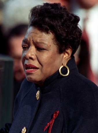 Angelou_at_Clinton_inauguration_(cropped_2)