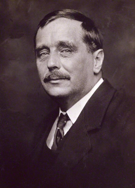 NPG x13208; Herbert George Wells by George Charles Beresford