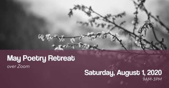 Poetry Retreat flyer for august 2020 rescheduling v2
